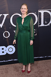 May 14, 2019 - Hollywood, California, U.S. - Paula Malcomson arrives for the premiere of HBO's 'Deadwood' Movie at the Cinerama Dome theater. (Credit Image: © Lisa O'Connor/ZUMA Wire)