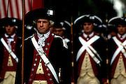 Image of the Yorktown Victory Reenactment in Yorktown, Virginia, east coast by Randy Wells