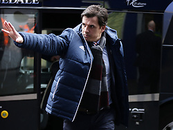 Sunderland manager Chris Coleman arriving for the Sky Bet Championship match between Queens Park Rangers and Sunderland at Loftus Road, London.