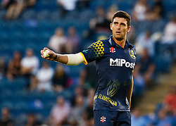 Glamorgan's Ruaidhri Smith in action today <br /> <br /> Photographer Simon King/Replay Images<br /> <br /> Vitality Blast T20 - Round 8 - Glamorgan v Gloucestershire - Friday 3rd August 2018 - Sophia Gardens - Cardiff<br /> <br /> World Copyright © Replay Images . All rights reserved. info@replayimages.co.uk - http://replayimages.co.uk