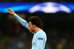 Leroy Sane of Manchester City reacts - Mandatory by-line: Matt McNulty/JMP - 26/09/2017 - FOOTBALL - Etihad Stadium - Manchester, England - Manchester City v Shakhtar Donetsk - UEFA Champions League Group stage - Group F