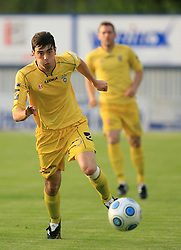 Alen Vuckic of Domzale at 32th Round of Slovenian First League football match between NK Domzale and NK Hit Gorica in Sports park Domzale, on May 6, 2009, in Domzale, Slovenia. Gorica won 2:0. (Photo by Vid Ponikvar / Sportida)