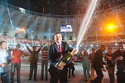 Vista geral da Festa Gigante - Reinauguração do Beira-Rio, neste sábado 05 de abril de 2014. O estádio Beira Rio receberá os jogos da Copa do Mundo de Futebol 2014. FOTO: Alexandre Lops/ Inter/ Agência Preview/ Agência Preview