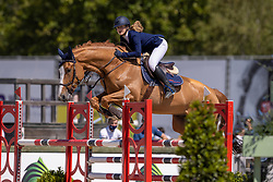 De Koning Marie, BEL, Malongo de Regor<br /> Belgisch Kampioenschap Jeugd Azelhof - Lier 2020<br /> <br /> © Hippo Foto - Dirk Caremans<br /> 30/07/2020