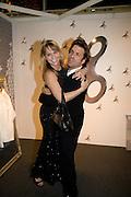 GLORIA VAILATI; PATRICIO FORRESTER, FashionExpo, fashion show and Awards. Business Design Centre, Upper st. London. 19 November 2008.  *** Local Caption *** -DO NOT ARCHIVE -Copyright Photograph by Dafydd Jones. 248 Clapham Rd. London SW9 0PZ. Tel 0207 820 0771. www.dafjones.com