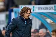 Wycombe Wanderers manager Gareth Ainsworth during the EFL Sky Bet League 1 match between Wycombe Wanderers and Plymouth Argyle at Adams Park, High Wycombe, England on 26 January 2019.