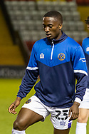 Shrewsbury Town Forward Daniel Udoh before  the EFL Sky Bet League 1 match between Lincoln City and Shrewsbury Town at Sincil Bank, Lincoln, United Kingdom on 15 December 2020.