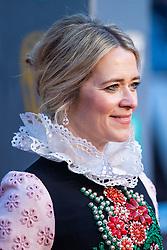 Edith Bowman attending 72nd British Academy Film Awards, Arrivals, Royal Albert Hall, London. 10th February 2019