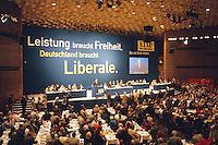 29.08.1998, Germany/Bonn:<br /> Übersicht, a.o. Bundesparteitag der FDP, Beethovenhalle<br /> IMAGE: 19980829-01/03-37<br /> KEYWORDS: Parteitag, party congress