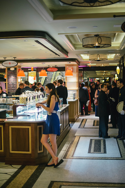 The Plaza Food Hall at the Plaza Hotel in New York City during the Tony Awards After-Party