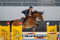 Van Asten Leopold, NED, VDL Group Nino du Roton<br /> Aachen International Jumping<br /> Aachen 2020<br /> © Hippo Foto - Stefan Lafrentz<br /> 05/09/2020