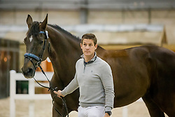Missiaen Simon, BEL, Charlie<br /> Horse Inspection - The Dutch Masters<br /> © Hippo Foto - Sharon Vandeput<br /> 14/03/19