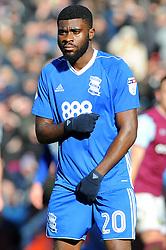 Jeremie Boga of Birmingham City - Mandatory by-line: Nizaam Jones/JMP - 11/02/2018 - FOOTBALL - Villa Park - Birmingham, England - Aston Villa v Birmingham City - Sky Bet Championship