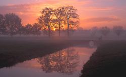 landscape near Utrecht Holland