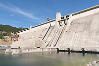 Libby Dam on the Kootenai River Montana