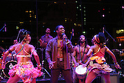 """November 3, 2012- New York, NY: The Cast of  """" Fela """" performs at the EBONY Power 100 Gala Presented by Nationwide held at Jazz at Lincoln Center on November 3, 2012 in New York City. The EBONY Power 100 Gala Presented by Nationwide salutes the country's most influential African Americans.(Terrence Jennings) ."""