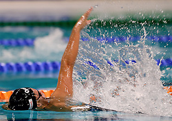 10-04-2014 NED: NK Swim Cup, Eindhoven<br /> Kira Toussaint, 200m rug