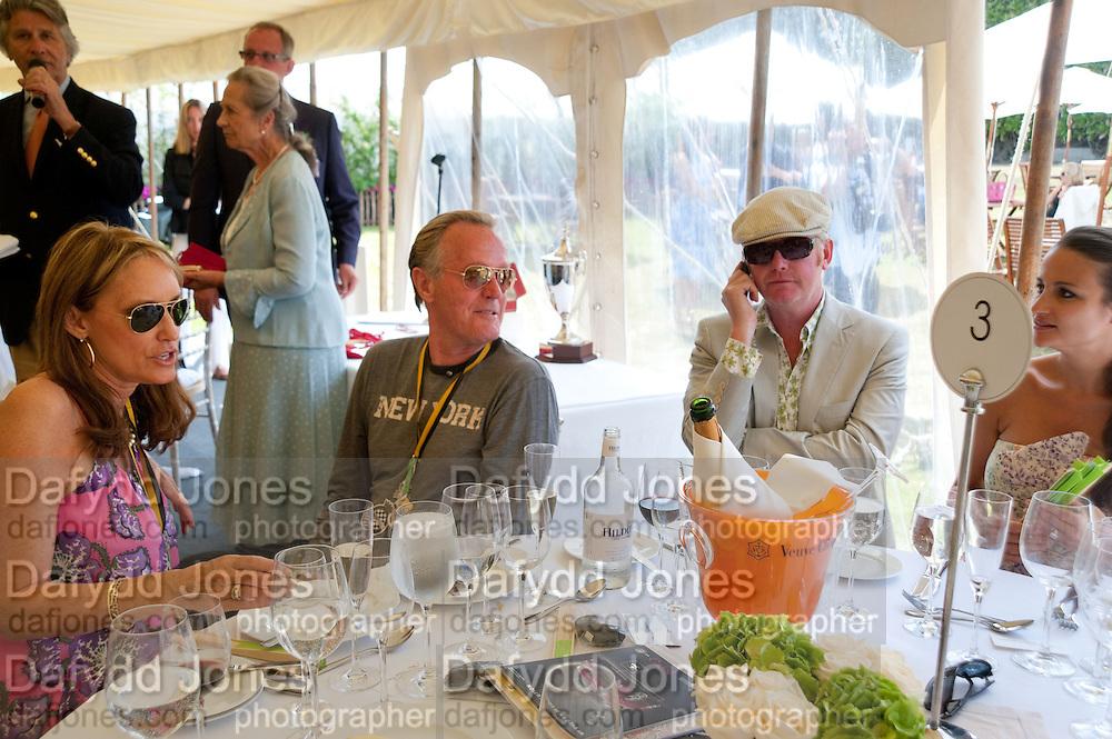 PARKY FONDA; PETER FONDA; CHRIS EVANS; NATASHA EVANS;, Cartier Style et Luxe at the Goodwood Festival of Speed. Goodwood House. 5 July 2009.