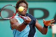Roland Garros. Paris, France. June 1st 2007..3rd Round..Gael MONFILS against David NALBANDIAN.