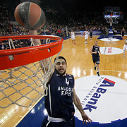 Anadolu Efes's Dogus Balbay (F) during their Turkish Airlines Euroleague Basketball Game 10 match Anadolu Efes between Real Madrid at the Abdi ipekci Arena in Istanbul, Turkey, Thursday, December 19, 2013. Photo by Aykut AKICI/TURKPIX