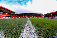 A general view inside The Valley Stadium during the The FA Cup 2nd round match between Charlton Athletic and Doncaster Rovers at The Valley, London, England on 1 December 2018. Photo by Toyin Oshodi