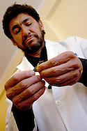 Doctor Jorge Hurtado, psychotherapist and founder of coca museum, use , as an harm recuction method, the coca leaf for to teach of the drigs addicts. the traditional slow way to chew