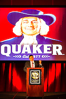 President of Quaker Oates, Jose Prado, at the Annual Meeting in Chicago.