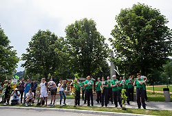 Music band during 1st Stage of 27th Tour of Slovenia 2021 cycling race between Ptuj and Rogaska Slatina (151,5 km), on June 9, 2021 in Slovenia. Photo by Vid Ponikvar / Sportida
