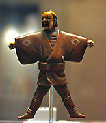 Netsuke (Japanese miniature sculptures invented in 17th-century Japan.