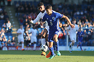 Rony Laufer of Israel (5) during the UEFA European Under 17 Championship 2018 match between England and Israel at Proact Stadium, Whittington Moor, United Kingdom on 4 May 2018. Picture by Mick Haynes.
