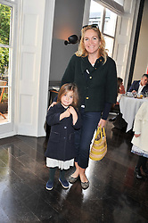 IMOGEN EDWARDS-JONES and her daughter ALLEGRA ALLEN at a children's tea party for the English National Ballet hosted by Mortons Private Members Club, Berkeley Square, London on 20th October 2011.