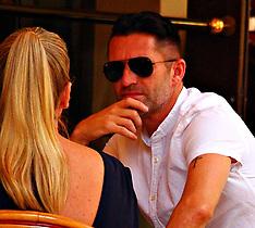 Former LA Galaxy star Robbie Keane seen back in Los Angeles - 18 Aug 2017
