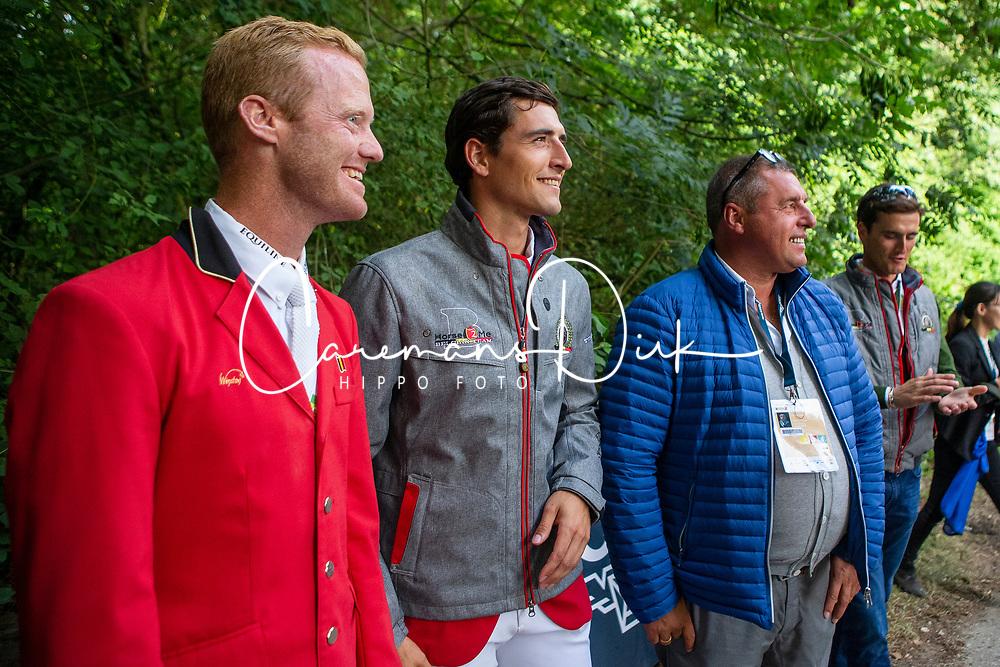 Bruynseels Niels, BEL, Philippaerts Nicola, BEL, Philippaerts Ludo, BEL<br /> CHIO Rotterdam 2018<br /> © Hippo Foto - Sharon van den Put<br /> 24/06/2018