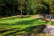 01-09-2016 Golffoto's van het Nationaal Open op de Hilversumsche Golf Club in Hilversum. finale.  Roos Haarman op de zeventiende
