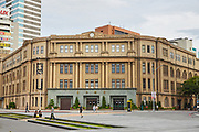 Taipei Beimen Post Office is a heritage listed historical building originally constructed in 1930, with a period of reconstruction in the 1960's. The building is still used as a post office today with regular periods of preservation work being carried out to ensure safety.