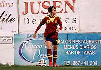 Fifa Womans World Cup Canada 2015 - Preview //  Friendly Match -<br /> Spain vs New Zealand 0-0  ( Municipal Stadium - La Roda , Spain ) <br /> Marta Corredera of  Spain