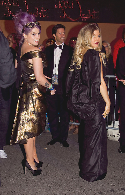 Kelly Osbourne and Fergie walk the red carpet during the Life Ball 2013 held in Vienna, Austria. 25/05/2013 Manuela Larissegger/CatchlightMedia
