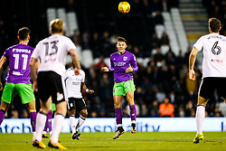 Josh Brownhill of Bristol City in action - Rogan/JMP - 31/10/2017 - Craven Cottage - London, England - Fulham FC v Bristol City - Sky Bet Championship.