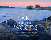PRODUCT: Book<br /> TITLE: Lake of The Woods - Gem of The Canadian Shield 2021<br /> Text by Elizabeth Campbell<br /> CLIENT: Vidacom Publications<br /> <br /> A millennia-old gathering place. A wild country freckled with lush <br /> forests and shimmering waters. A glimpse of the pristine Great White North. Located at the tripoint of Ontario, Manitoba, and Minnesota, Lake of the Woods is all of these things and much more. Here, as in the days of yore, discovery lies in wait at every turn—be it amid its centenary trees, in its secluded coves, on its golden beaches, or on the lively waterfronts of its charming communities.<br /> Now, you too can discover the spellbinding sights and scenes of Lake of the Woods, in this labour of love by photographer Mike Grandmaison and author Elizabeth Campbell.  <br /> Lake of the Woods—Gem of the Canadian Shield is their ode to a place that has captured the hearts of many, as it will, through these pages, no doubt capture yours.