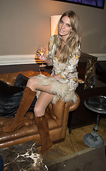 GEORGIE MACINTYRE at the Tatler Little Black Book Party at Home House Member's Club, Portman Square, London supported by CARAT on 11th November 2015.