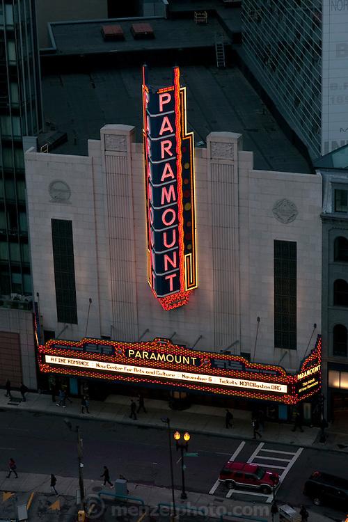 Paramount Theater, Boston, MA