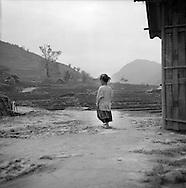 Little H'Mong girl in Lao Chai Valley. Sapa, Vietnam.2005