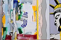National Gallery, Washington DC. Painting by Roy Lichtenstein.