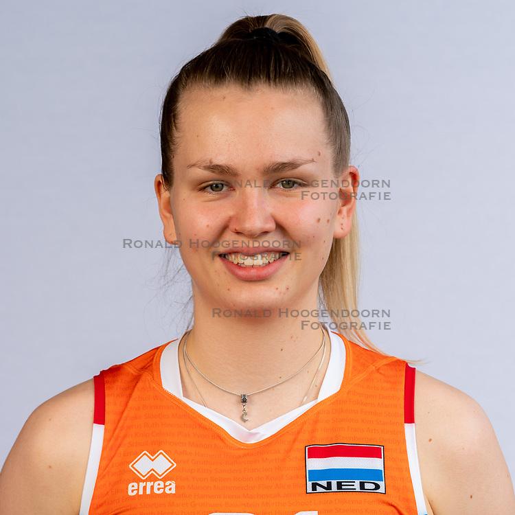 Annick Meijers of Netherlands, Photoshoot selection of Orange women's volleybal team season 2021on may 12, 2021 in Arnhem, Netherlands (Photo by RHF Agency/Ronald Hoogendoorn)