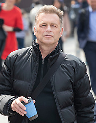 © Licensed to London News Pictures. 01/05/2019. London, UK. Naturalist Chris Packham walks through Parliament Square. Photo credit: Peter Macdiarmid/LNP
