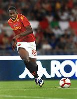 Stefano Okaka (Roma)<br /> Roma vs Gent 3-1<br /> Europa League <br /> Stadio Olimpico, Roma, 30/07/2009.<br /> Photo Antonietta Baldassarre Inside