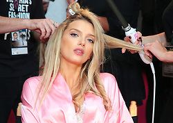 Victoria's Secret Fashion Show - Hair and Makeup, Paris, 2016, Paris, France. 30 Nov 2016 Pictured: Lily Donaldson. Photo credit: MEGA TheMegaAgency.com +1 888 505 6342
