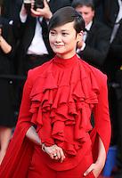 Li Yuchun at the 'Behind The Candelabra' gala screening at the Cannes Film Festival  Tuesday 21 May 2013