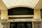 The Savoy hotel, the Embankment, London