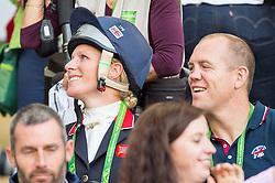 Zara Philips, (GBR) - Jumping Eventing - Alltech FEI World Equestrian Gamesª 2014 - Normandy, France.<br /> © Hippo Foto Team - Jon Stroud<br /> 31-08-14